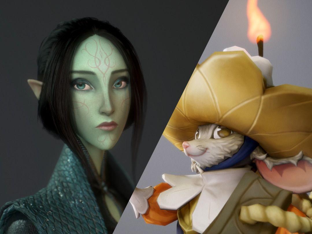 3D Character Portfolio