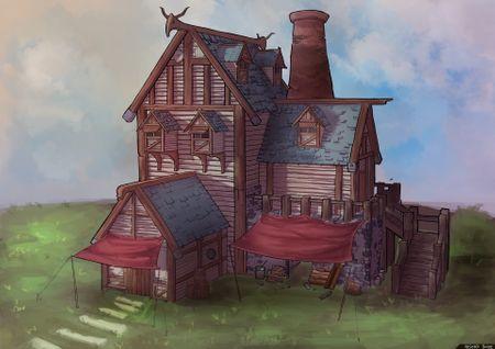 A Viking House
