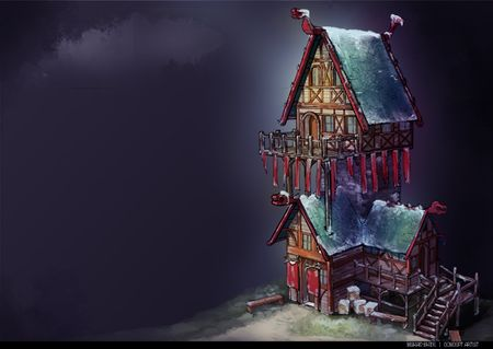 A Viking Chief's House
