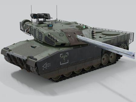 Railgun Tank Concept Design.