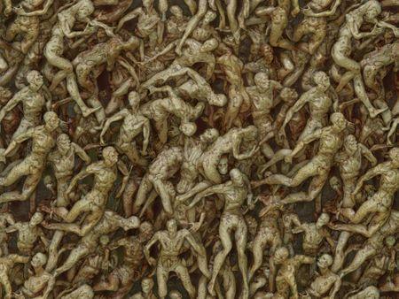 Doom Eternal inspired body pile material