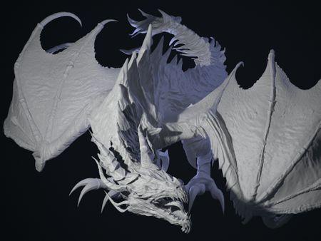 Alduin Dragon Fanart