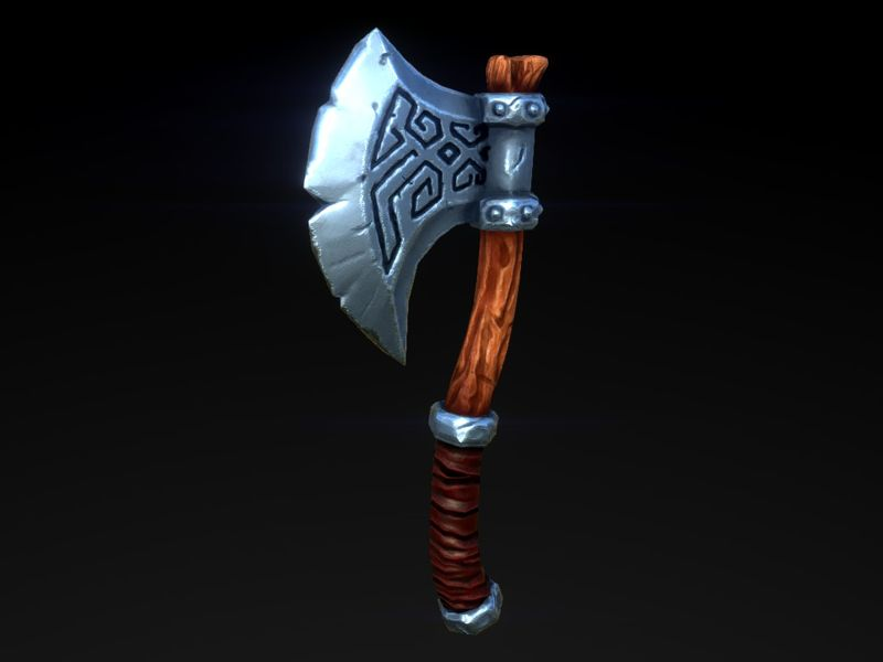 PBR Viking Axe