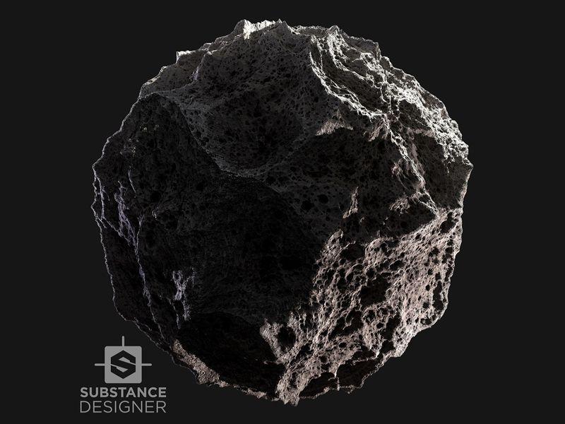Meteorite Material