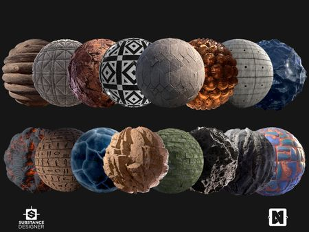 Substance Designer Material Work