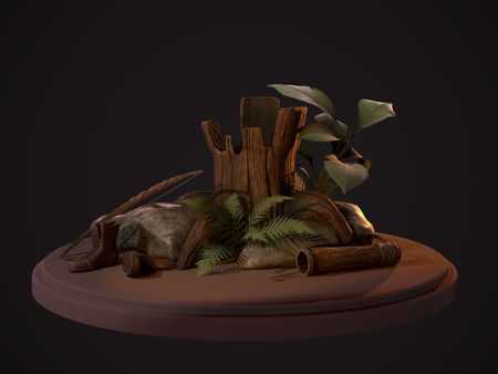 Wilderness Diorama (Game Assets)