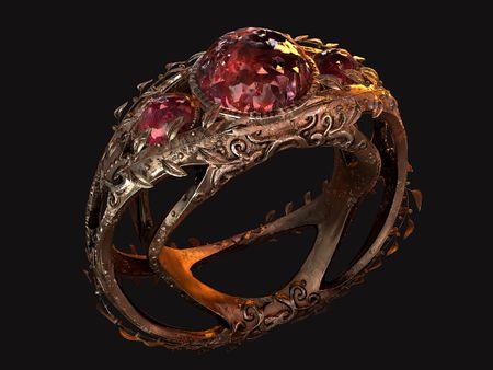 The Vine Ring (Game/Movie Asset)