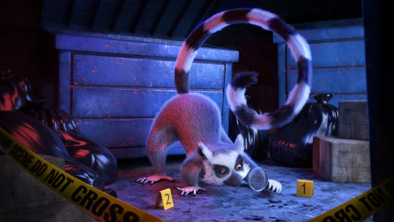 THE DETECTIVE LEMUR