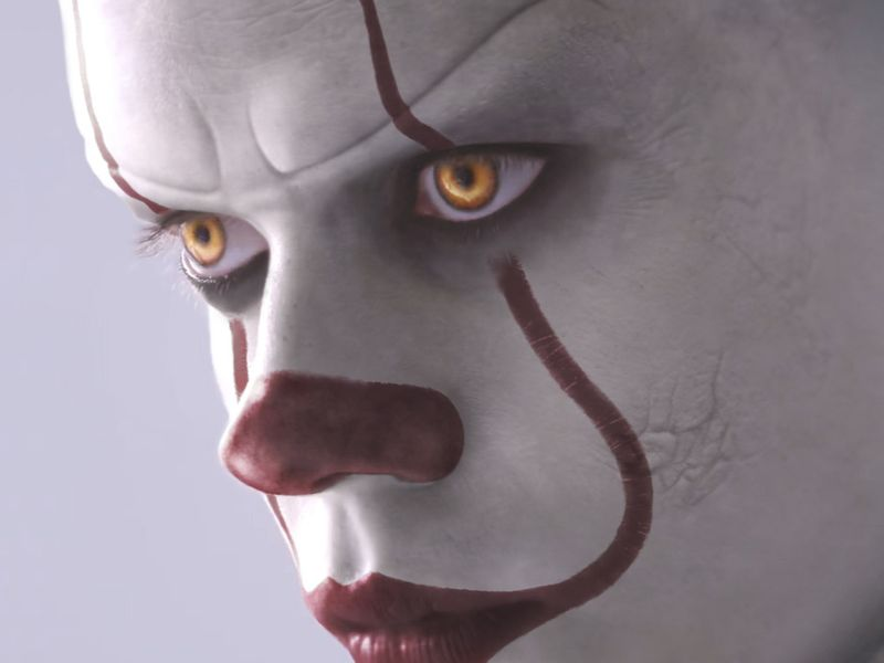 Pennywise's Transformation