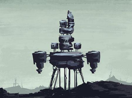 Concept art - The Lander