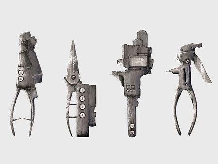 Prop Concept Art | Craftman Tools