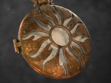 Texturing and Storytelling. Pocket Watch.