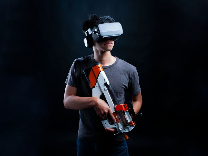 Happy Trigger - A VR Gel Blaster Simulation