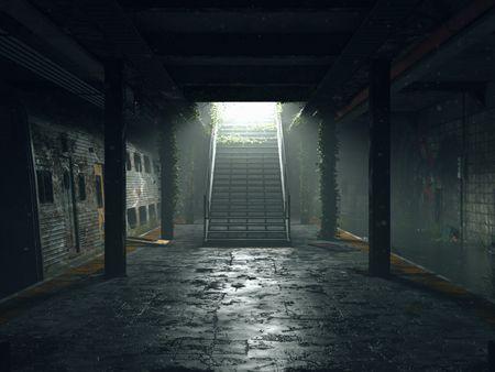 Abandoned Subway Station