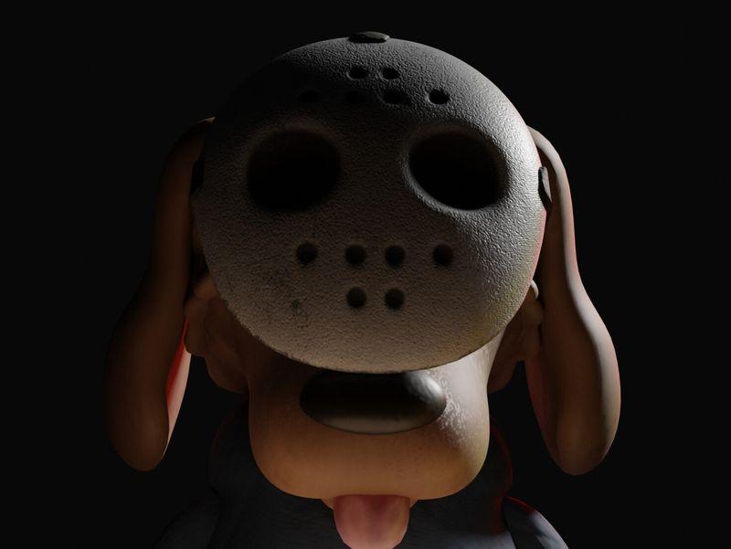Little Spooky Dog