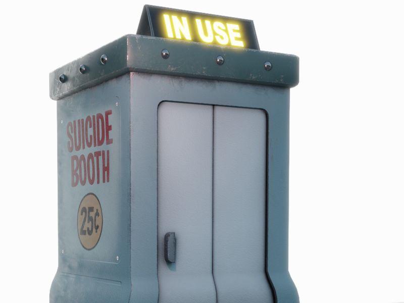 Suicide Booth- Futurama
