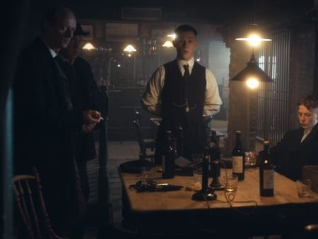 Peaky Blinder's Bookie Runner office
