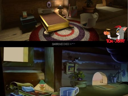 Jerry's room recreated in 3D