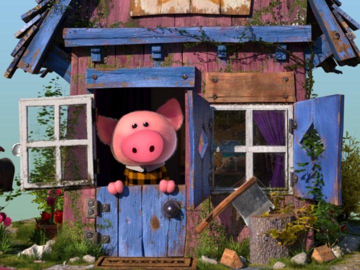 Mr. Piggy's little house