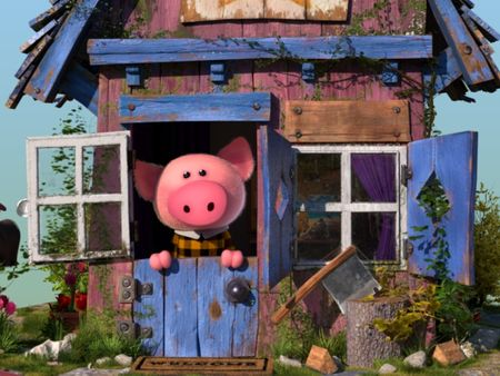 Mr. Piggy's little house