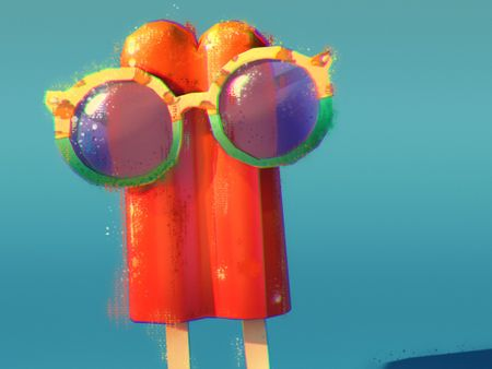 The sweet popsicle