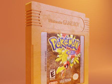 Pokémon Game Boy Cartridge.