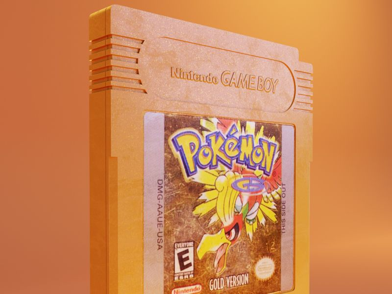 Pokémon Game Boy Cartridge.