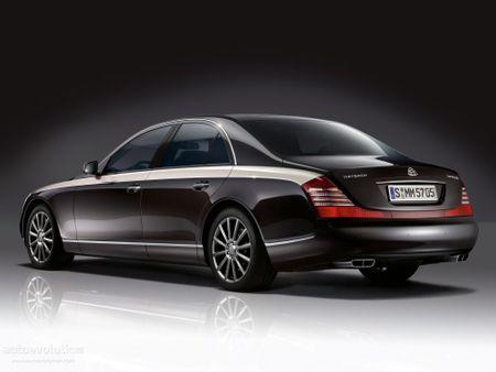 Mercedes Maybach 57