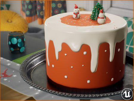 Jingle Bells Cake