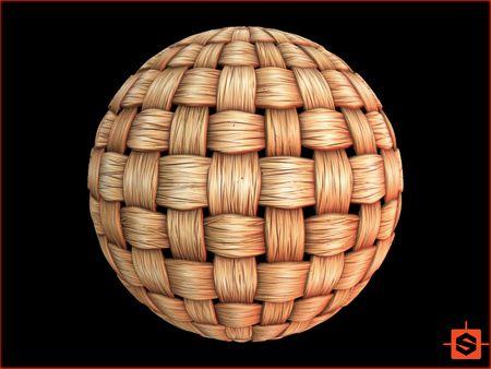 Stylized Woven Bamboo