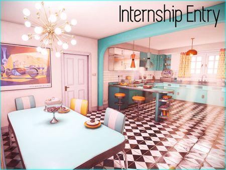Retro Kitchen Real Time Environment