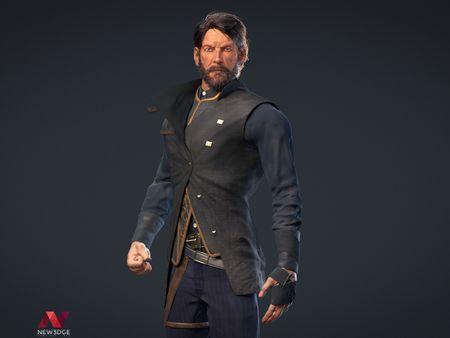 3D Character: Corvo (Dishonored)