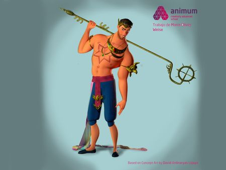 3D Model I made at Animum