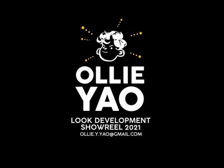 Ollie Yao Look Development Showreel