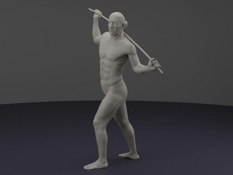 Figure sculpting - anatomy study
