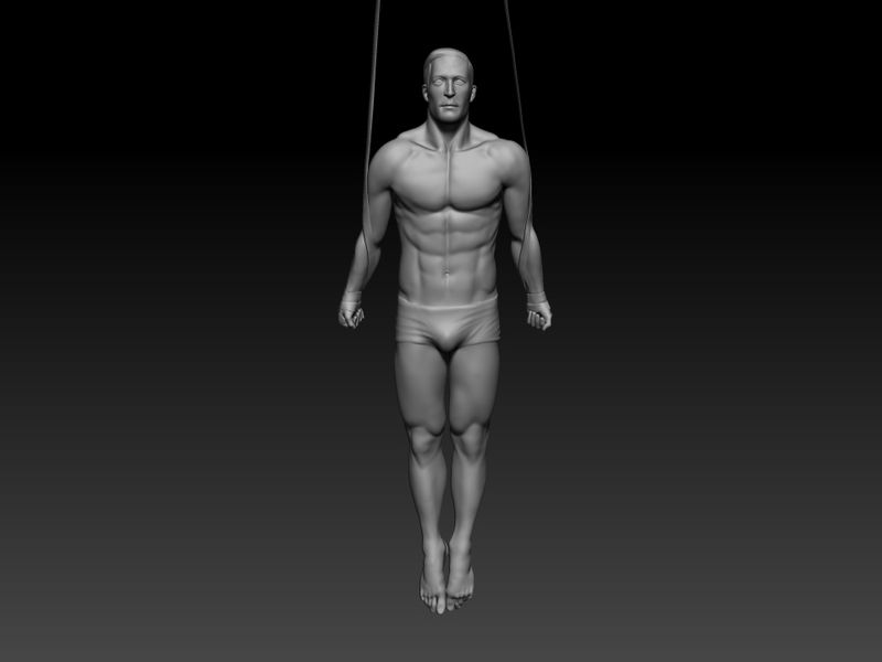Figure sculpting - anatomy study Bodies in motions.