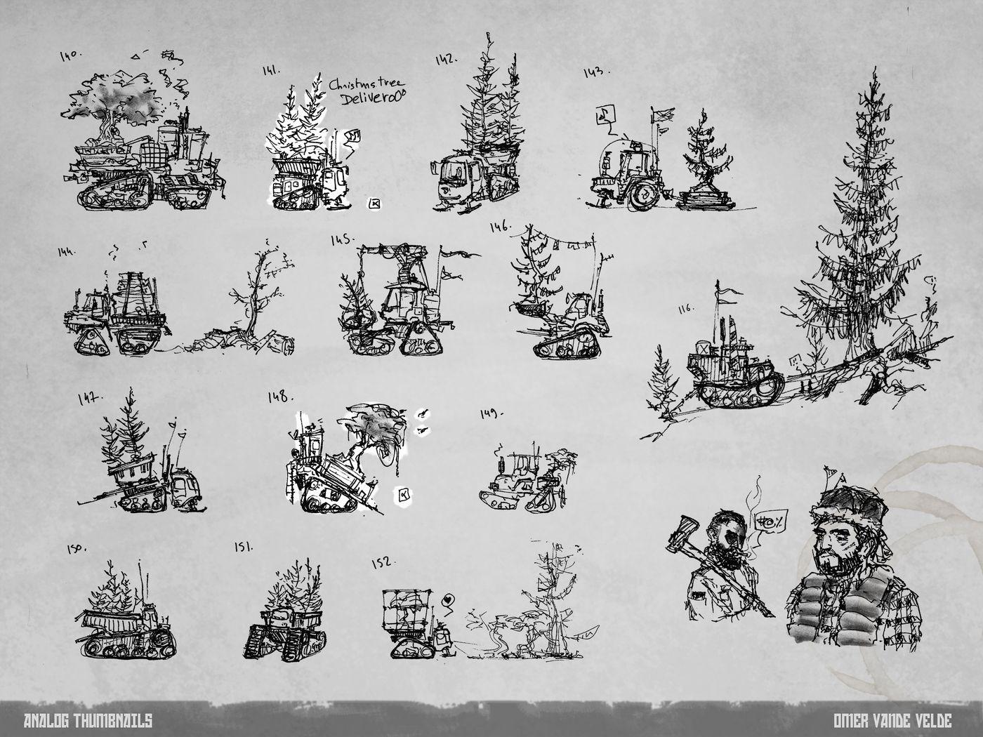 7 Lumberjack Analog Thumbnails Omervandevelde