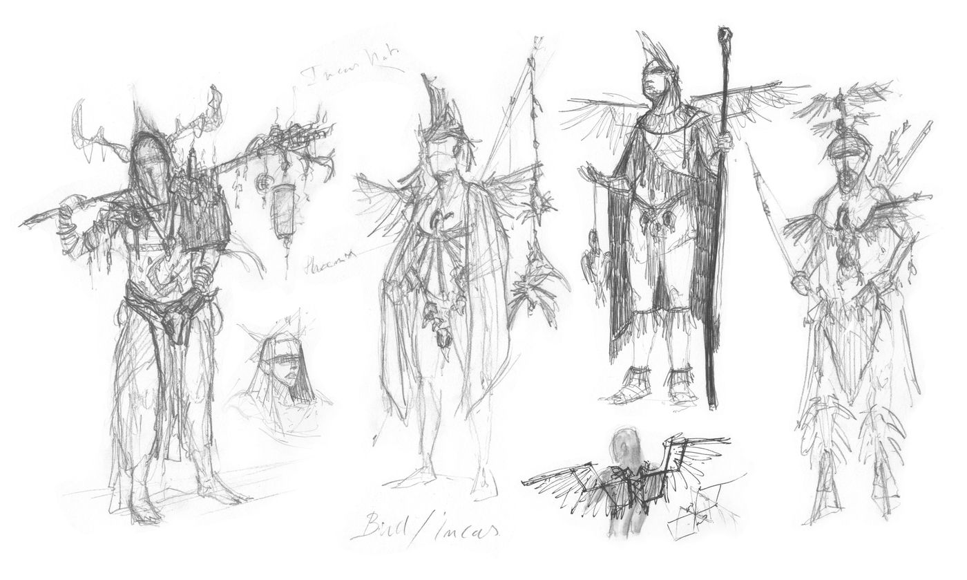 5 Sketches 2 Omervandevelde