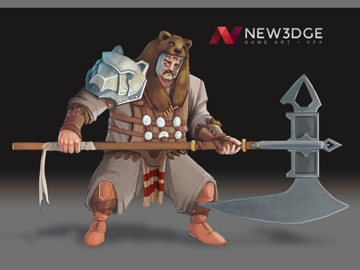 Fantasy Gladiator - Character Design
