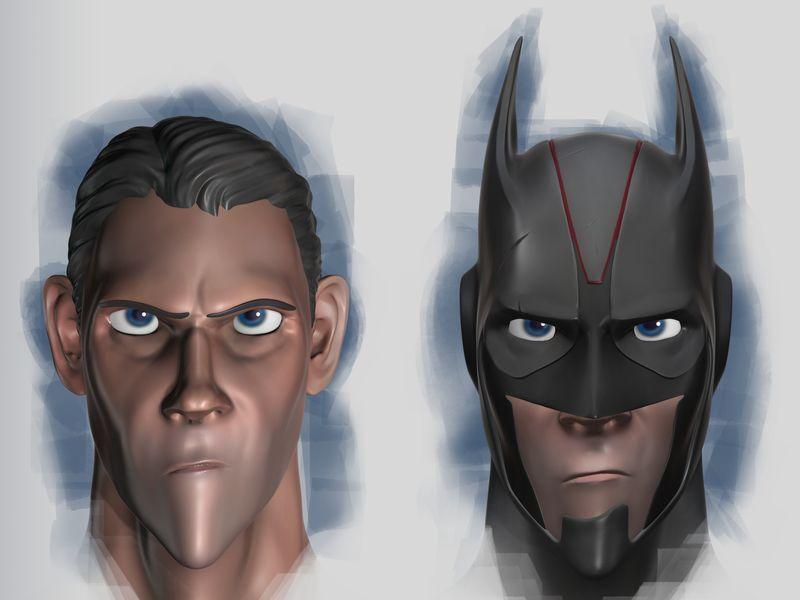 Bruce Wayne & Batman