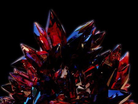 Blender Crystals