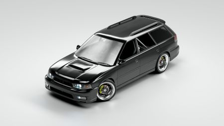 Subaru Legacy GT-B Touring - Game Asset