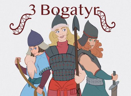 3 Bogatyr & other characters