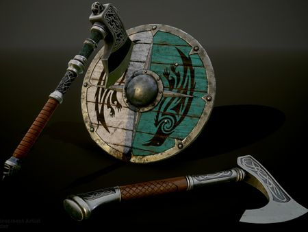 Oxlander's Props and Environment Work