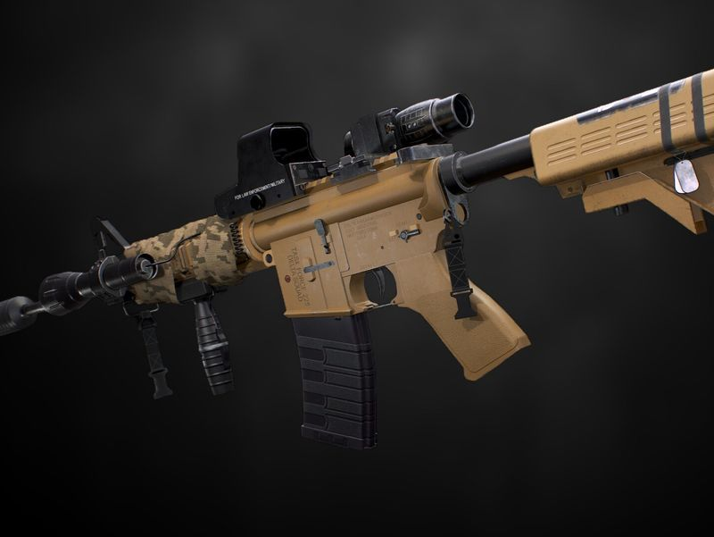 M4A1 Custom Loadout