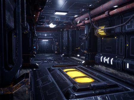 Modular Sci-Fi Environment - Unreal Engine 4