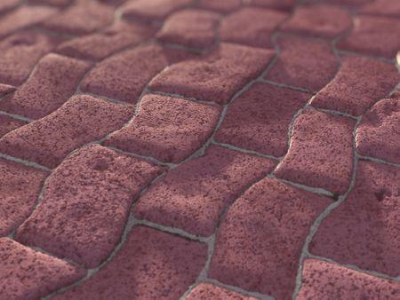Pavement Ground - PBR Material