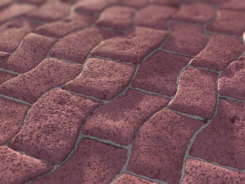 Pavement Ground - PBR Material