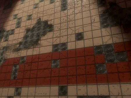 Damaged Wall Tile - PBR Material