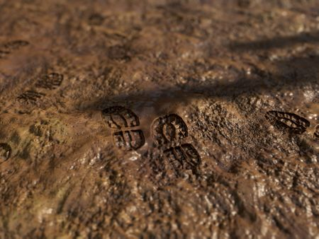 Mud Ground - PBR Material